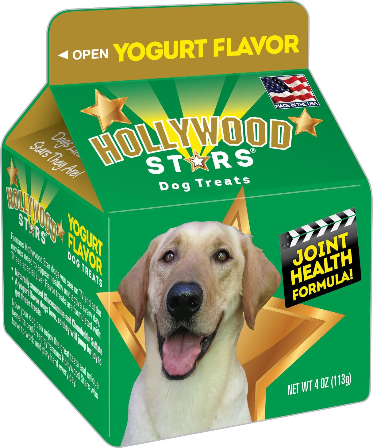 Hollywood Stars Dog Treats Yogurt Flavor by Bil-Jac Foods