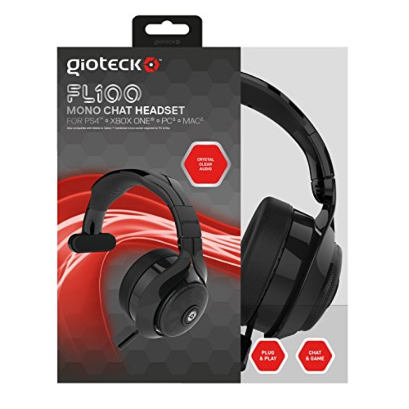 Gioteck FL-100 Wired Mono Chat Headset
