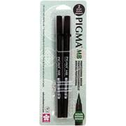 Pigma Professional Brush Pen 2/Pkg-Medium