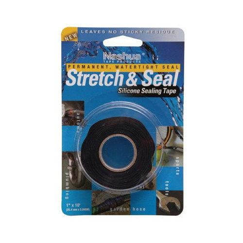 Nashua Nashua - Plumbing & Electrical Tapes Str & Seal Blk 1''X10Ft: 573-684201 - str & seal blk 1''x10ft