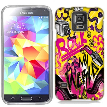 Mundaze Rock and Makeup Phone Case Cover for Samsung Galaxy S5 - Galaxy Make Up