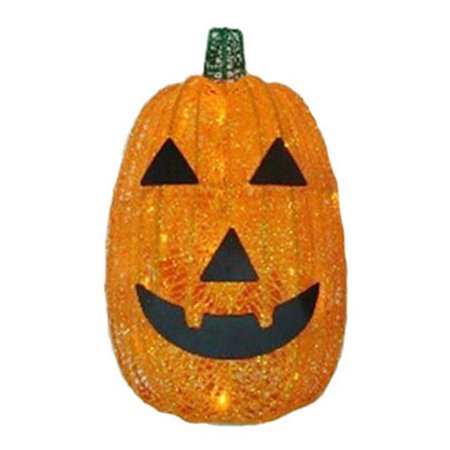 V34222-88 16 in. Battery Operated Pumpkin