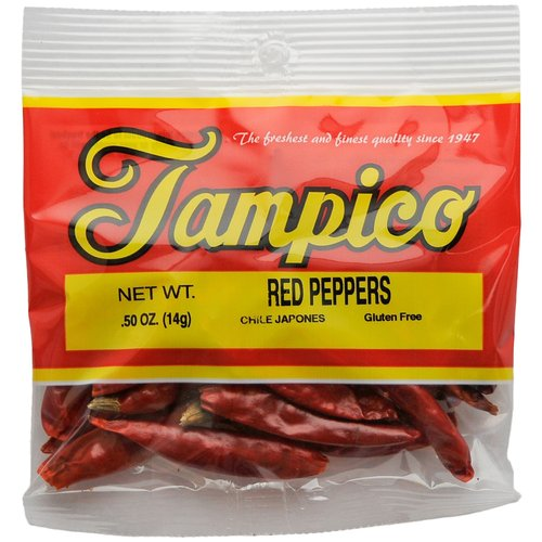Tampico Spice Tampico  Red Peppers, 0.5 oz