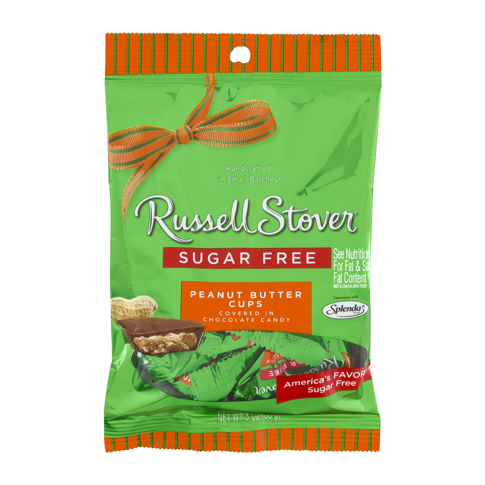 Russell Stover Sugar Free Peanut Butter Cups, 3.0 OZ