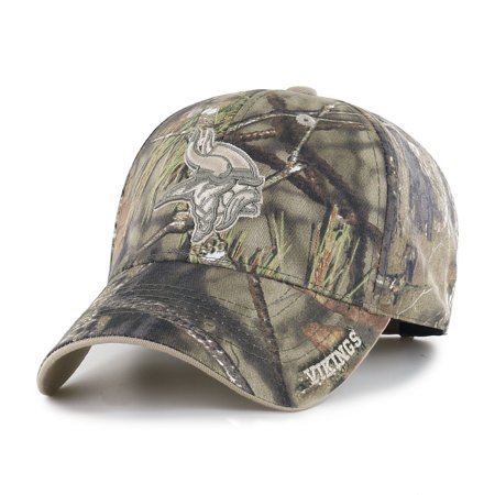 Minnesota Vikings Winter Hat (Fan Favorite - NFL Mossy Oak Frost Hat, Minnesota)