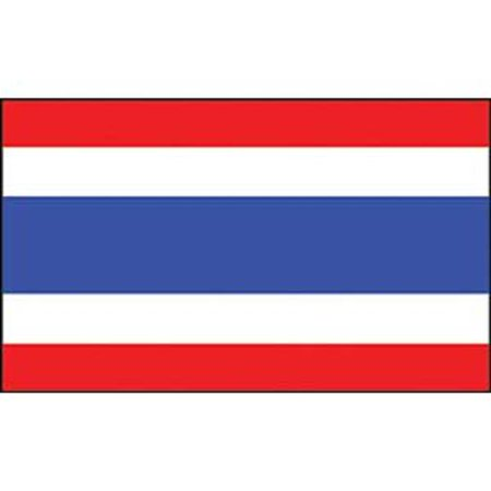 Thailand Flag On A Stick 12