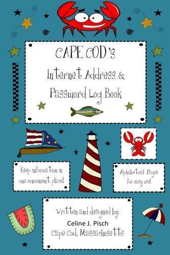Cape Cod's Internet Address & Password Log Book by