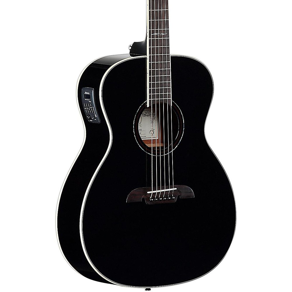 Alvarez AF610EBK Folk Acoustic-Electric Guitar Black by Alvarez
