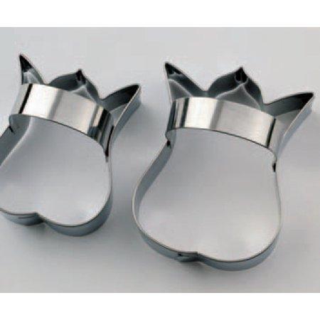 Tulip Cutter - Martellato Stainless Cutters w/Handles, Tulip, 2-Piece Set
