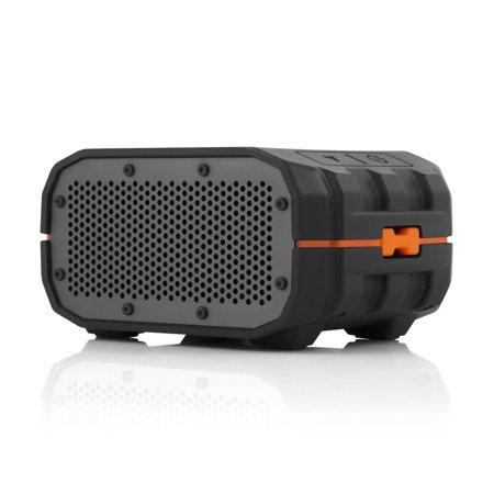 Braven BRV-1 Portable Wireless Bluetooth Speaker - Black/Orange