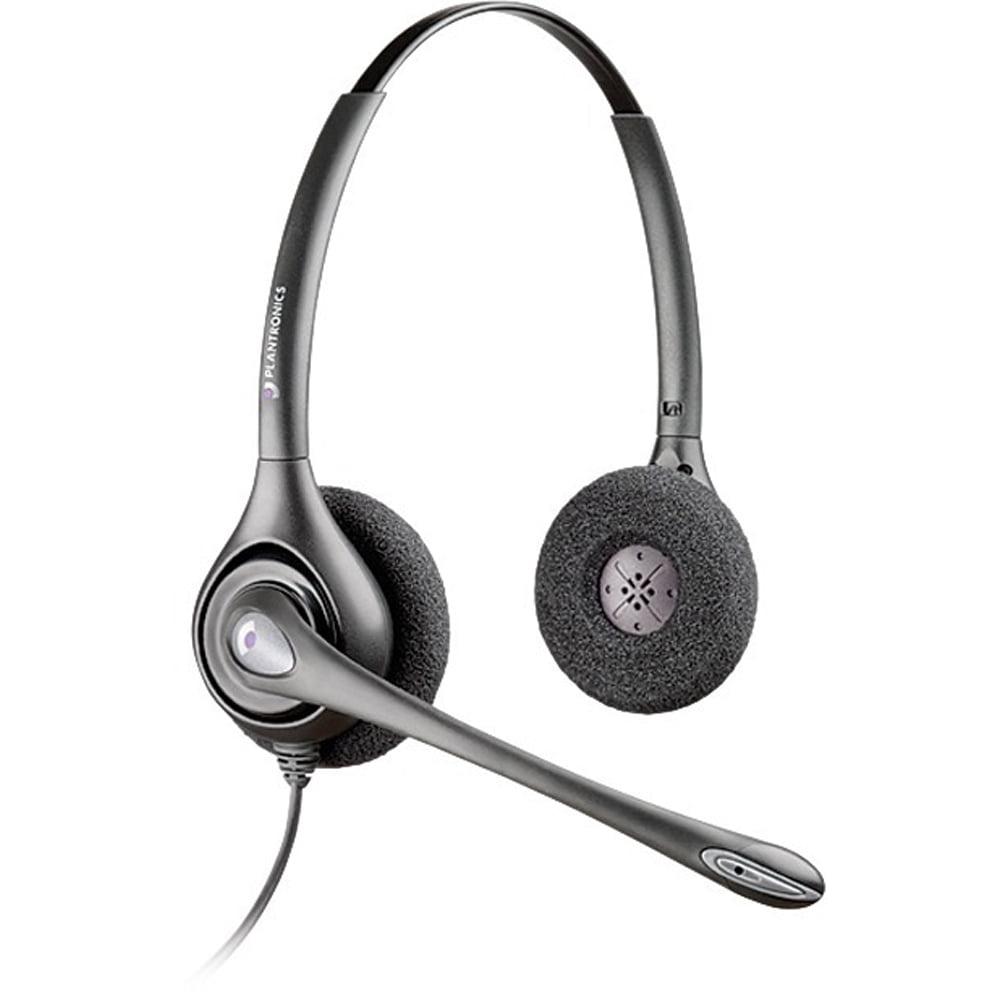 Plantronics Hw261n Supraplus Headset Noise Canceling Duo 64339 31 Brickseek