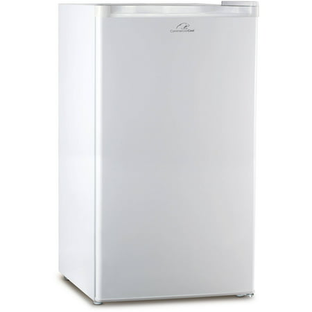 Commercial Cool 2.6 cu ft Refrigerator Freezer, White