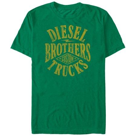 Diesel Mens Clothing (diesel brothers men's mens - diesel brothers custom truck diamond t-shirt)