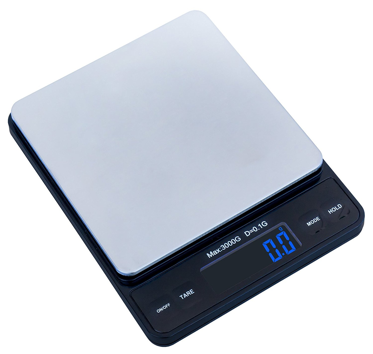 Weighmax Duo Series W 7800 High Precision 0 1g 01oz 3000g Digital Pro Pocket Scale Serving As Kitchen And Postal