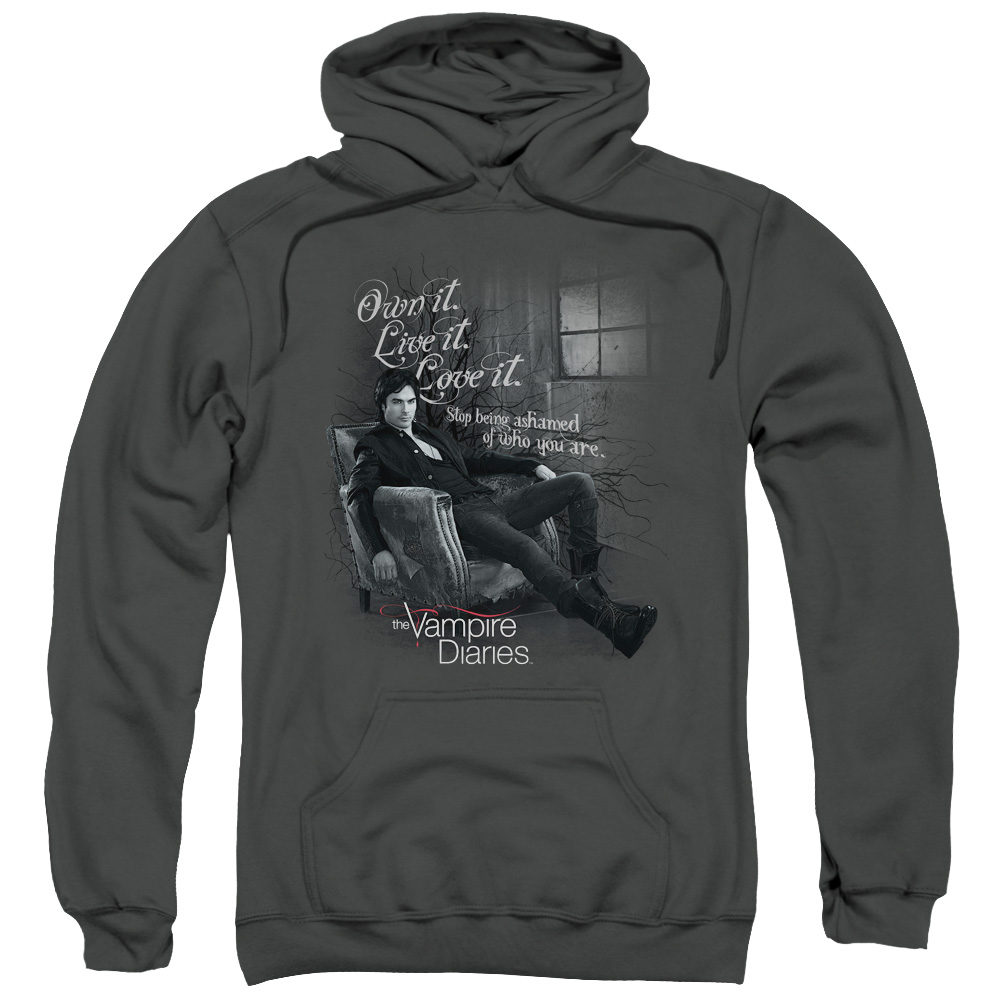 The Vampire Diaries Be Yourself Mens Pullover Hoodie