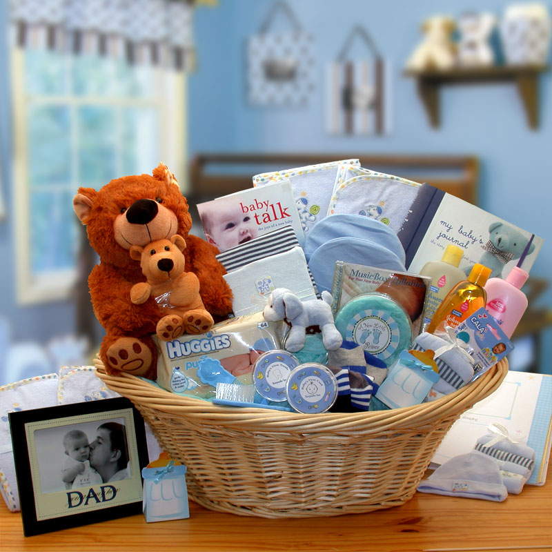 Gift Basket 890111-B Deluxe Welcome Home Precious Baby Ba...