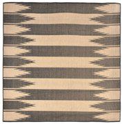 Liora Manne Terrace 1785/77 Taos Charcoal Area Rug 39 Inches X 59 Inches
