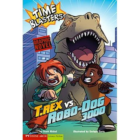 T. Rex Vs Robo-Dog 3000 : Time Blasters (Liquid Wrench Vs Pb Blaster Vs Kroil)
