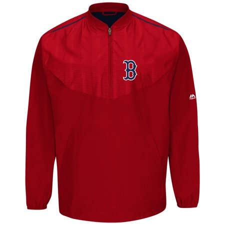 Boston Red Sox Majestic MLB Authentic Cool Base On-Field Training Jacket by