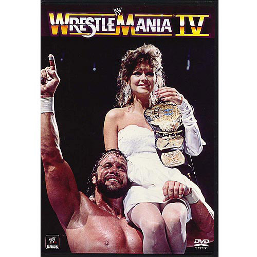 Warner Brothers Wrestlemania 4 Dvd Std Ff