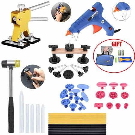 Dent Puller Kits Tools Hot Melt Glue Gun Pro Glue Sticks for Pulling  Automotive Car Hail and Door Ding Damage Removal