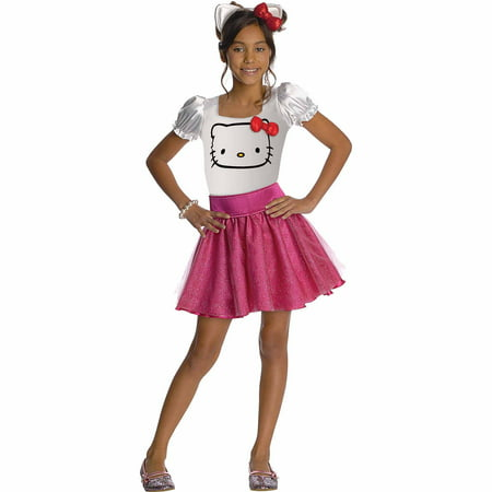 Hello Kitty Costume For Girls (Hello Kitty Child Halloween)
