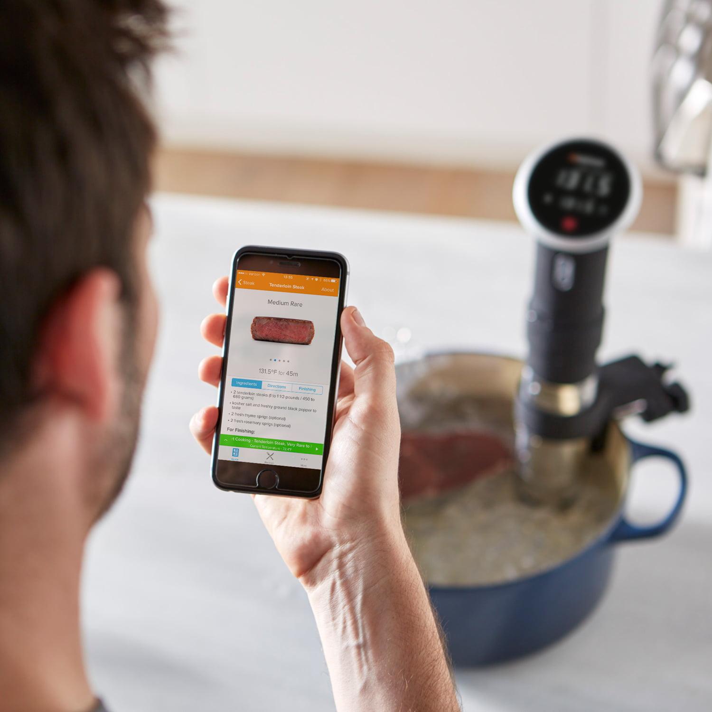 800 Anova Culinary Sous Vide Precision Cooker Bluetooth Immersion Circulator