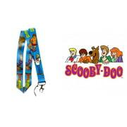 """Superheroes Scooby Doo Cartoon  19"""" Blue Lanyard"""