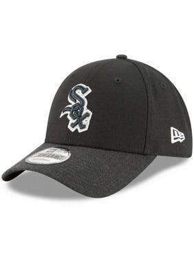 Product Image Chicago White Sox New Era The League 2 9FORTY Adjustable Hat  - Black Heathered Black 0af44429415