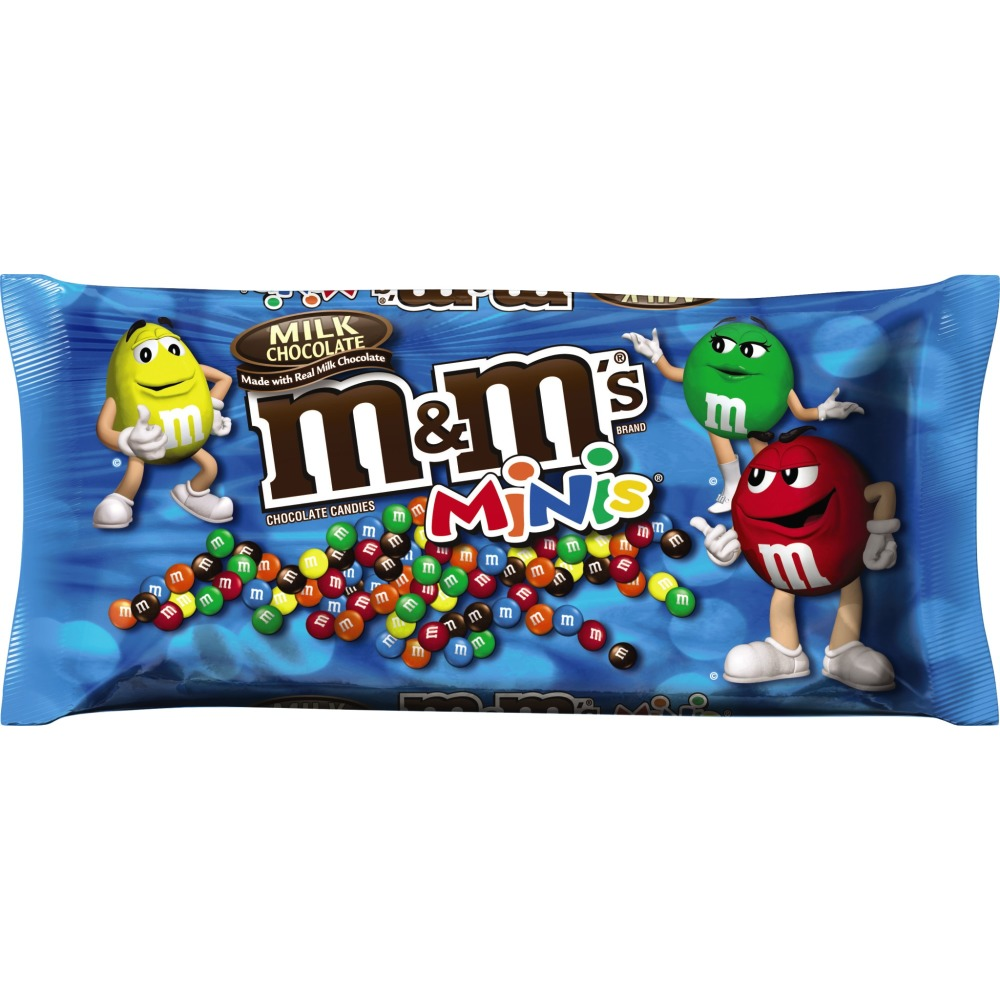 M&M'S Milk Chocolate MINIS Size Candy Bag, 10.8 oz