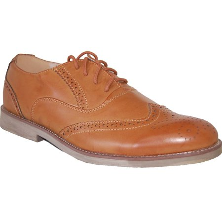 American Shoe Factory Wing Tip Leather Lined Upper Men (Leather Wing Tip)