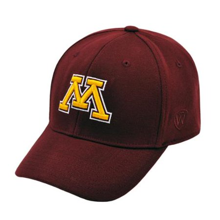a7ff7628d08d6 Minnesota Golden Gophers Official NCAA M L One Fit Wool Hat Cap by Top of  the World - Walmart.com