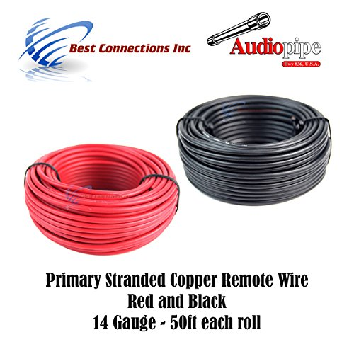 10 GAUGE WIRE PER 10 FT WHITE HOOK UP AWG STRANDED COPPER PRIMARY GROUND POWER