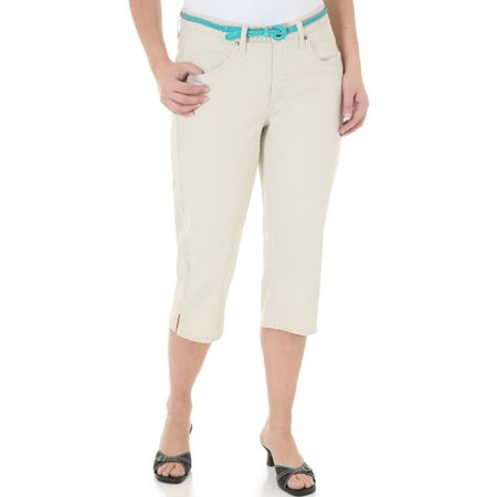 Riders by Women's Belted Capris