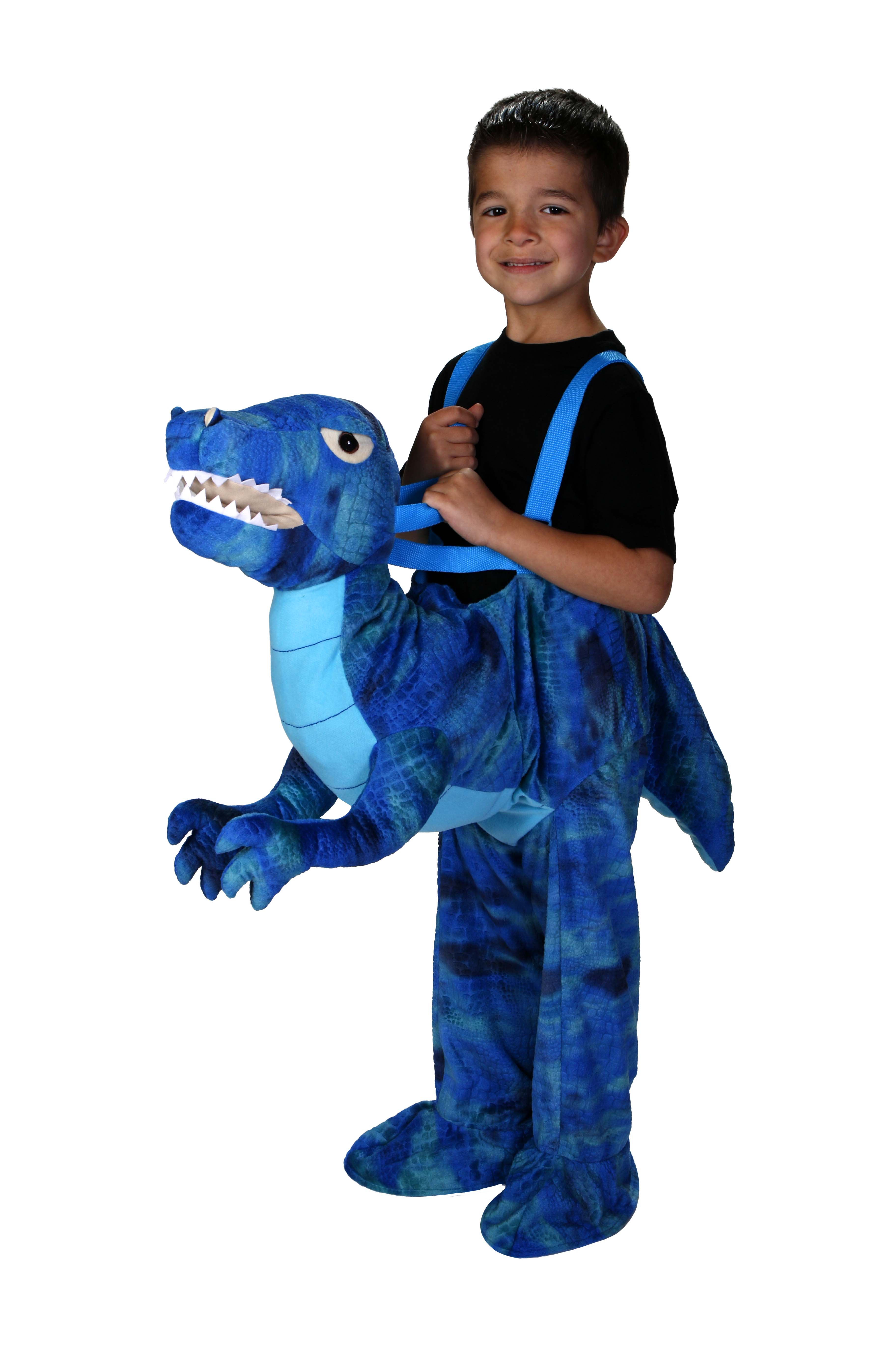 Blue Dino Rider Toddler Halloween Costume Walmart Com Walmart Com