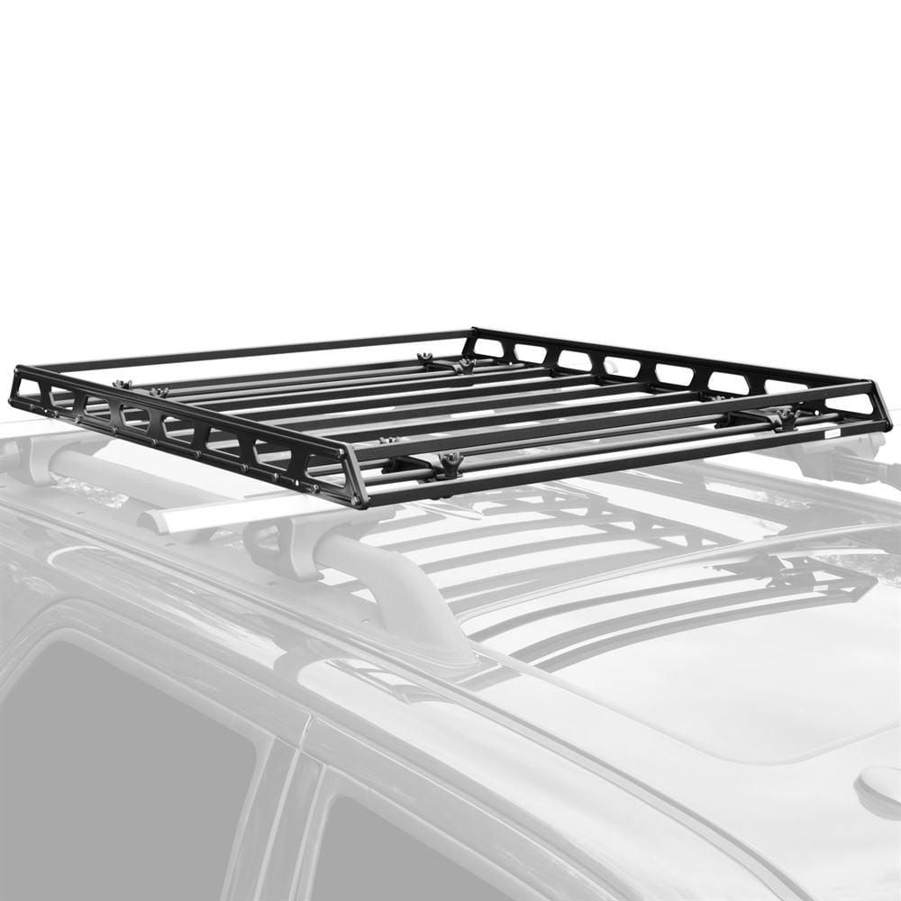 Elevate Outdoor Slim Low-Profile Car Roof Rack Camping Cargo Basket -  Walmart.com