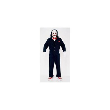 Deluxe Jigsaw Puppet Adult Costume - Large