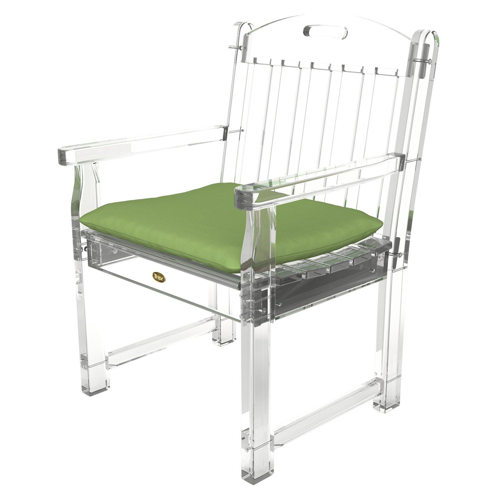 Trex Outdoor Furniture Sunbrella 21 x 18.5 Yacht Club Seat Cushion