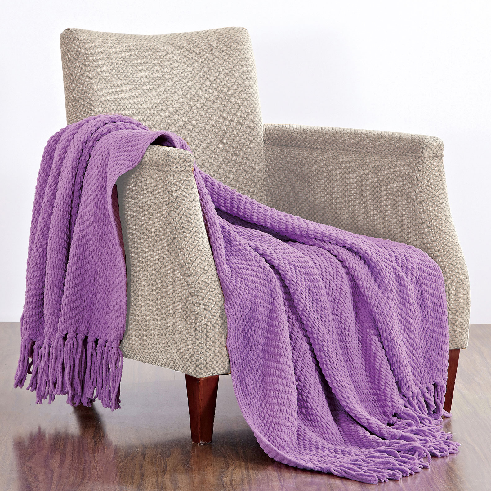 Click here to buy BOON Throw & Blanket Knitted Tweed Throw Blanket by BOON Throw & Blanket.