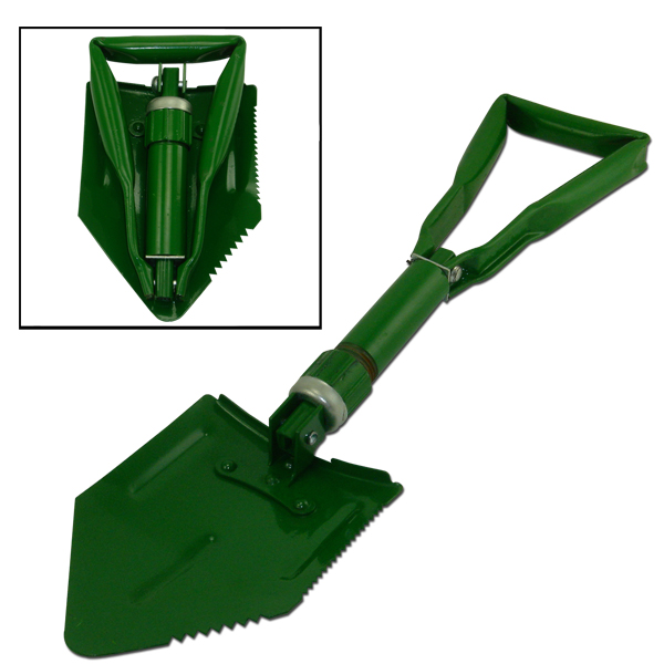 "23"" Military Trench Snow Camp Survival Folding Shovel Gardening Spade by Neiko"
