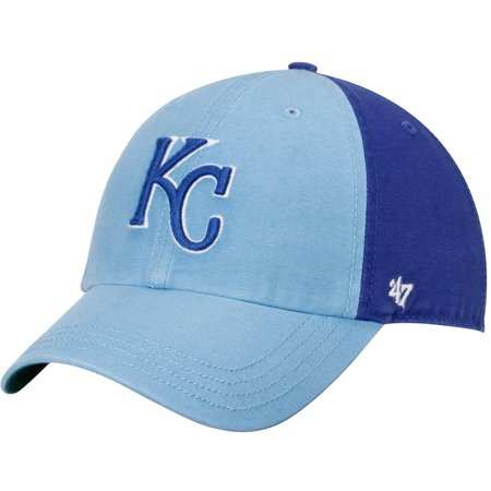 3c84716d3b585 Kansas City Royals  47 Flagstaff Clean Up Adjustable Hat - Light Blue Royal  - OSFA - Walmart.com