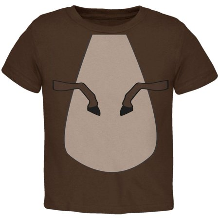 Halloween Horse Costume Brown Pony Toddler T Shirt