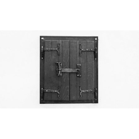 Framed Art For Your Wall Black And White Old Window Hinge Window ...
