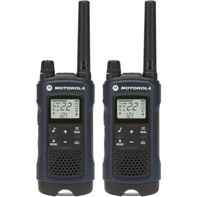 Motorola T460 Rechargeable 2-Way Radio, Dark Blue