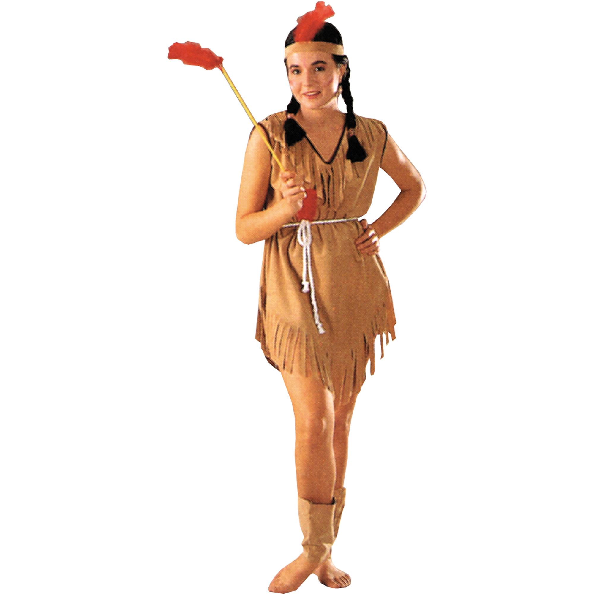 Native American Lady Adult Halloween Costume