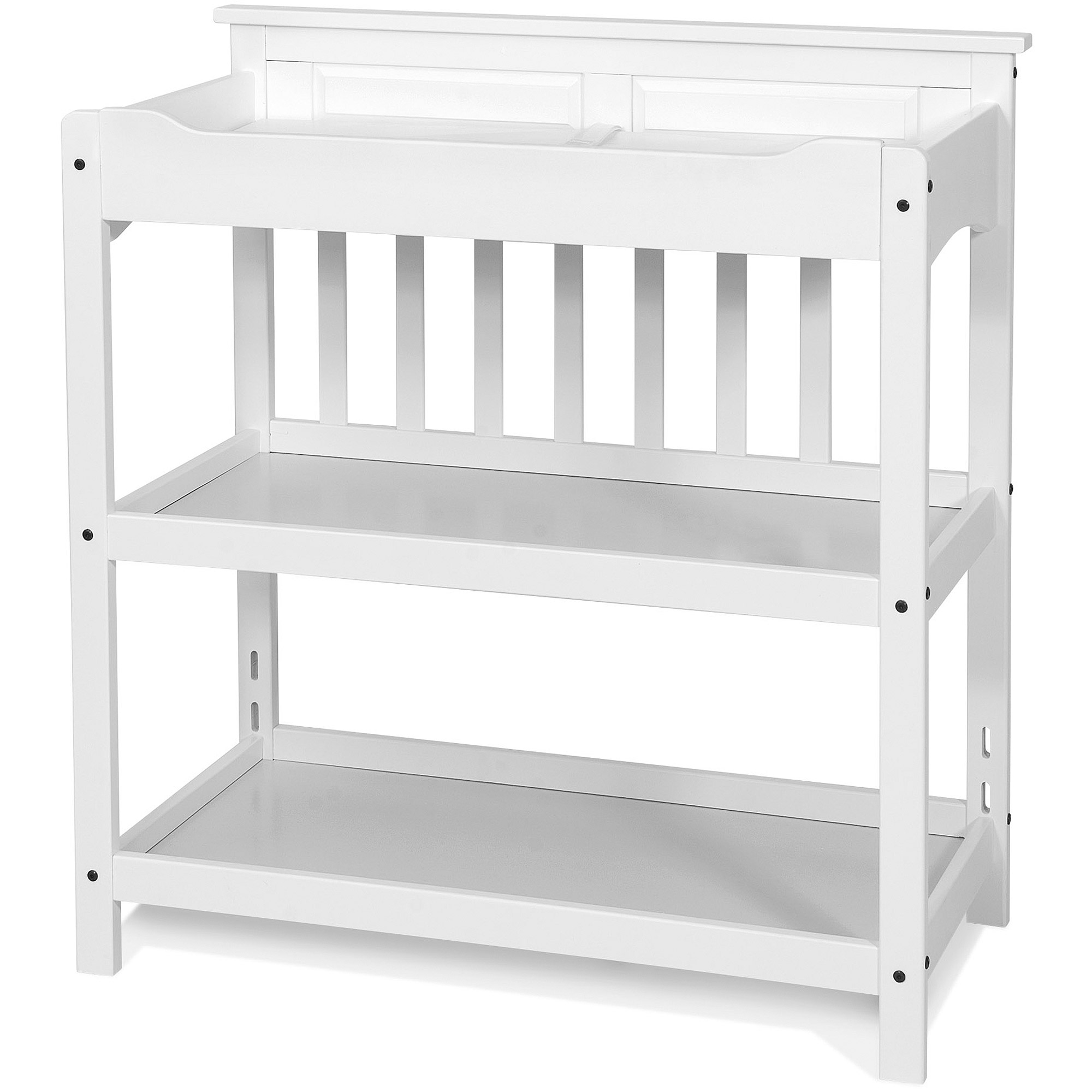 Child Craft Logan Dressing Table and Twin-Size Headboard Combo Unit, Choose Your Finish