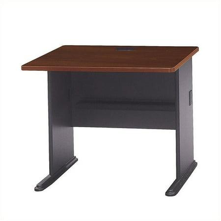 Pemberly Row 36W Desk in Hansen Cherry - image 3 de 4