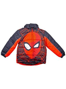 Spider-Man Face Kids Coat-Size 6