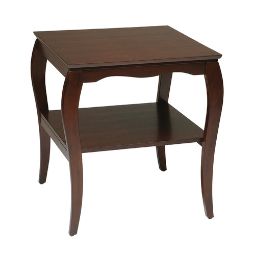 OSP Designs Curved End Table