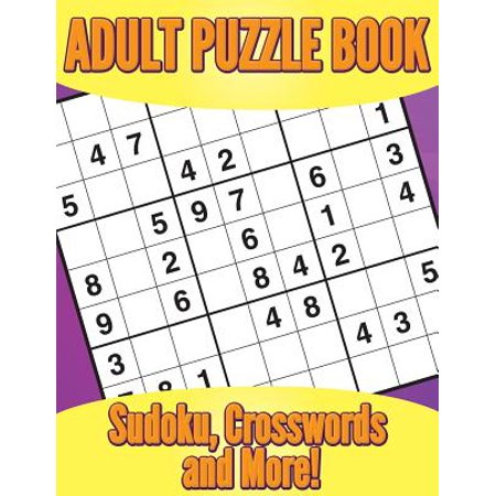 Adult Puzzle Book : Sudoku, Crosswords and More! - Halloween Crossword Puzzles Answer